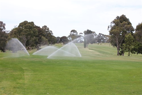 Hamilton Golf Course - Water for Community